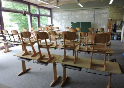 Im Klassenraum